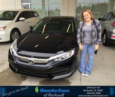 Happy Anniversary to Stephanie on your #Honda #Civic Sedan from Jim Rutelonis at Honda Cars of Rockwall!  https://deliverymaxx.com/DealerReviews.aspx?DealerCode=VSDF  #Anniversary #HondaCarsofRockwall