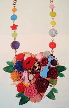 tatty devine Devine Love, Tatty Devine, Neck Piece, Jewel Box, Cheap Jewelry, Contemporary Jewellery, Wearable Art, Crochet Necklace, Jewelry Accessories