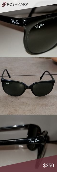 de149d7a002 Bausch   Lomb Ray-Ban Sunglasses BAMFshades Super mazing sweet awesome  vintage antique cat eye