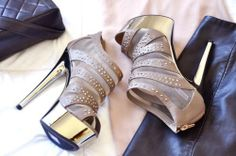 Gorgeous Luxury style heels. <3