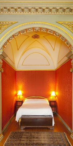 Britain's premier bedsit? The Duke of Richmond used to stay in this gilded alcove.