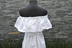 Strapless Dress Chiapas Dress Huipil Mexican Dress   Etsy Ethnic Dress, Boho Dress, Mexican Embroidered Dress, Vintage Style, Vintage Fashion, White Strapless Dress, Mexican Dresses, Hippie Dresses, Vintage Dresses