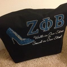 Zeta Phi Beta tote Phi Beta Sigma, Sorority Life, Sorority And Fraternity, Blue And White, Duffy, Dress Clothes, Temples, Royal Blue, Greek