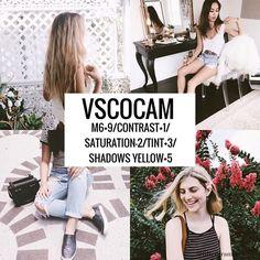Vscocam Filter- M6+9/Contrast+1/Saturation-2/Tint+3/Shadows Yellow+5 #vsco#vscocam#vscofilter