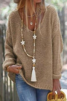 Loose Knit Sweaters, Casual Sweaters, Ribbed Sweater, Sweaters For Women, Pullover Sweaters, Fall Sweaters, Cute Sweaters, Sweater Cardigan, Winter Stil