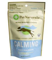 Help for nervous dogs, fireworks-haters, cleaning crew day, vet visits - Calming Chews by Pet Naturals Of Vermont. Pick some up at TDH! #tdhla