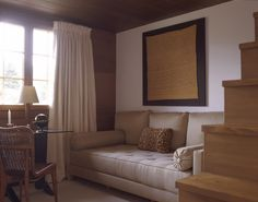 Chalet - Mlinaric, Henry and Zervudachi Couch, Curtains, Wood, Projects, Furniture, Image, Home Decor, Interiors, London