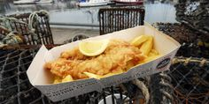 Fish and Chips from the Anstruther Fish Bar, Fife