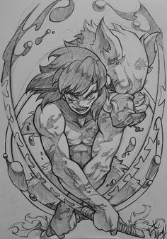 ommission WIP of Inosuke from Kimetsu no Yaiba (Demon Slayer). Anime Character Drawing, Manga Drawing, Manga Art, Manga Anime, Character Art, Naruto Drawings, Anime Drawings Sketches, Anime Sketch, Slayer Tattoo