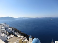 View from cafe', Santorini Island