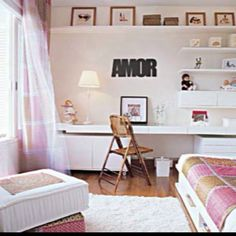 Love the multifunction of this room.