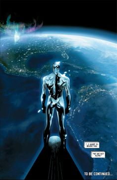 The Mighty Thor (silver surfer) by Olivier Coipel