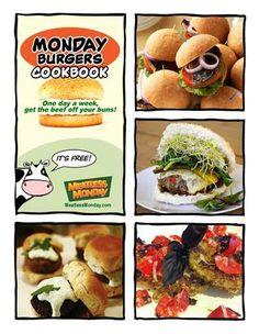 Meatless Monday: Monday Burgers Cookbook - tons of yummy homemade veggie burger recipes!!