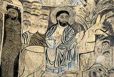 'Christ entering Jerusalem on Akdamar Island.' Turkey