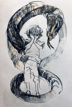 Kunst Inspo, Art Inspo, Anime Kunst, Anime Art, Cute Drawings, Drawing Sketches, Art And Illustration, Illustrations, Anime Sketch