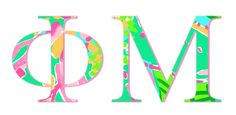Lilly Letters for Phi Mu of course
