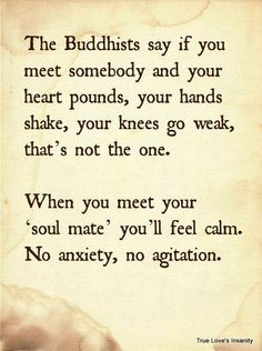 know if you met your soul mate