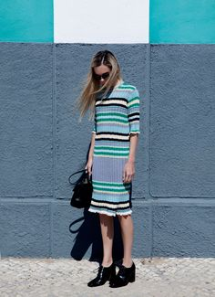 those Celine dresses are so major. Evangelie in Dallas. #StyleHeroine