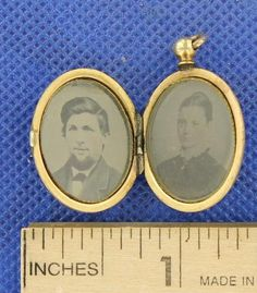 couple in a locket