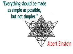 Albert Einstein on how to science.  Occam's Razor in terms even a little kid could understand.