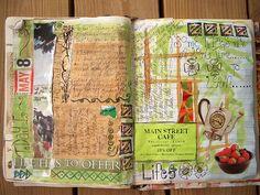 Amazing art journal page!
