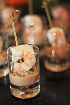 How perfect are these mini shrimp cocktail shots? @Four Seasons Hotel Cairo at The First Residence
