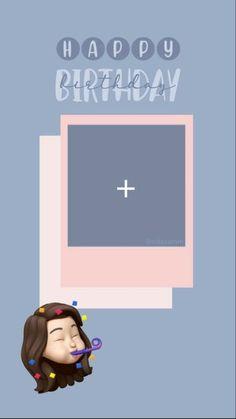 Happy Birthday Frame, Birthday Collage, Happy Birthday Template, Happy Birthday Posters, Happy Birthday Quotes For Friends, Happy Birthday Wallpaper, Birthday Frames, Birthday Posts, Happy Birthday Images