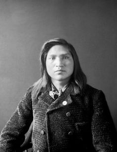 Nez Perce man, Amos F. Wilkinson, nephew of Chief Joseph. Photographed 1897.