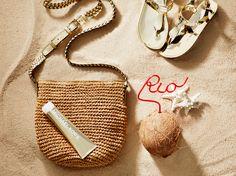 Sandy essentials. #JetSetGo