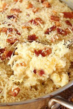 Five Cheese Macaroni With Prosciutto Bits Recipe