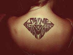 diamond tattoos | diamond # tattoos # dope tattoo