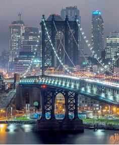 "newyorkcityfeelings:  ""Manhattan Bridge by fullmetalphotography  """