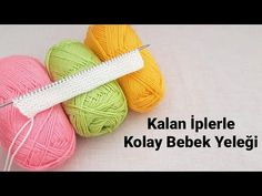 Kalan İplerle 🌱🌾 Kolay Bebek Yeleği Deseni | Knitting Tutorial Stitch Baby Sweatear DIY Free Pattern - YouTube Free Pattern, The Creator, Coin Purse, Stitch, Knitting, Baby, Youtube, Tejidos, Pattern