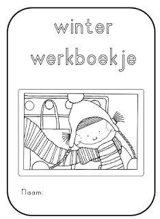 Winter werkboekje voor groep 3