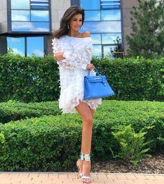 "najoutamayssastyle: """" I ❤️ her lovely mini dress and high heels, she has beautiful legs💋💋💋💋💋 Classy Outfits, Sexy Outfits, Sexy Dresses, Fashion Dresses, Summer Dresses, Beautiful Girl Image, Beautiful Legs, Beautiful Outfits, Trendy Girl"