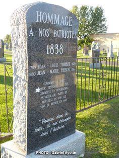 Les Patriotes de 1837@1838 - Mémoire des Patriotes dans la région de Saint-Philippe et de Mercier