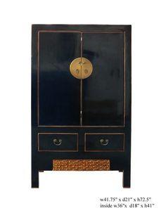 $1800 Black Lacquer Moon Face Armoire Tv Center Cabinet Armoire As178 http://www.amazon.com/dp/B004WLWWRC/ref=cm_sw_r_pi_dp_TOG3qb1QKJXRM