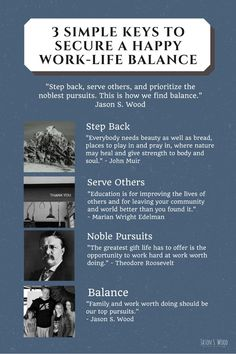 3 Simple Keys to Secure a Happy Work-Life Balance Jason S. Wood Daughters, Elk, and a Happy Work-Life Balance | Jason S. Wood | LinkedIn