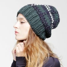 wool and the gang Zion Lion Hat Forest Green Tartan