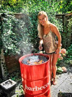 Grill węglowy Edson Red Barbecook - sprawdź więcej na www.barbecookgrill.pl Grill, Barbecue, Barrel Smoker, Bbq, Barbacoa