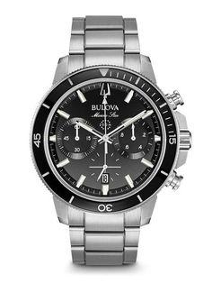 Bulova Marine Star Chronograph - Chronographs Never Go Out of Style!!