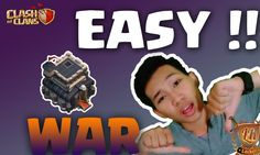 "Clash Of Clans Live War Attack - Clan War TH 9 INDONESIA ""EASY"" dan ""3 B..."