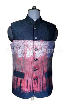 Black Handsome Nehru Jacket