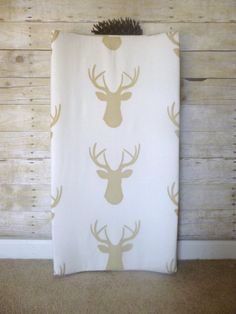 Hey, I found this really awesome Etsy listing at https://www.etsy.com/listing/192177186/woodland-changing-pad-cover-contoured