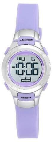 Armitron Women's Armitron® Digital Watch - Lavender #digitalwatches #womenswatches #ad