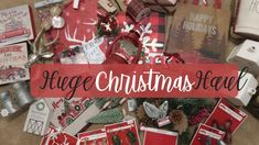847bcf61eb1 Huge Farmhouse Christmas Decor Haul 2018