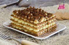 Mattonella di biscotti - Ricetta di Pronto in Tavola
