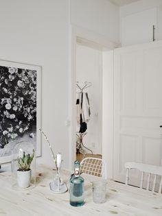 Un mini apartamento en tonos empolvados