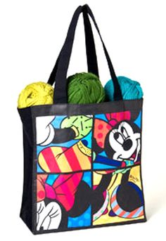 Disney By Britto From Enesco Minnie Mouse Tote Bag 24 In Details Can Be Found Clicking On The Image This Is An Affiliate Link