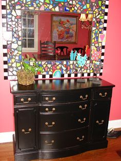 The Intentional Home: The How-Tos of Painting my Buffet
